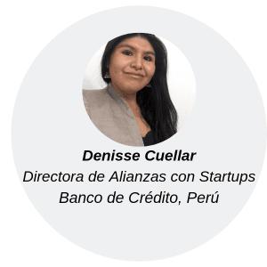 Denisse Cuellar, directora de alianzas con startups en BCP
