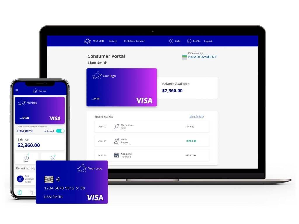NovoPayment y Visa en alianza; Neon cierra ronda; Naranja X lanza tarjeta prepaga