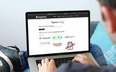 Neobanco y fintech de crowdfunding entre los nuevos ingresos al iupanaConnects Data