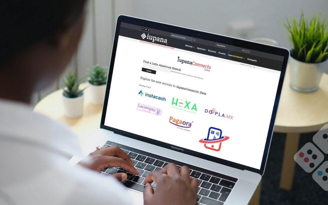Neobank and crowdfunding fintechs among the new iupanaConnects Data profiles