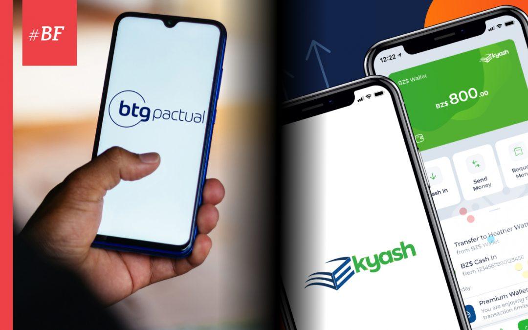 Banco BTG Pactual lanza plataforma cripto y Belize Bank presenta billetera digital E-Kyash