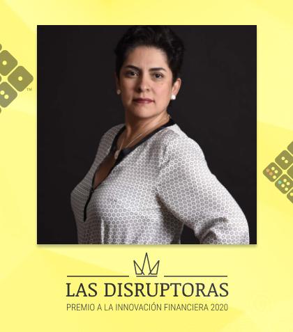 Amparo Nalvarte, fundadora de B89
